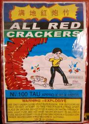 All Red Crackers 12/1388